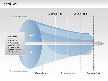 3D Funnel, Slide 10, 00750, Business Models — PoweredTemplate.com