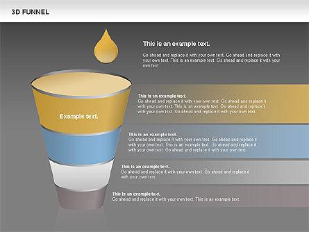 3D Funnel, Slide 12, 00750, Business Models — PoweredTemplate.com