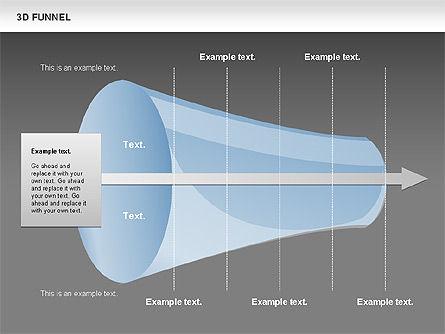 3D Funnel, Slide 15, 00750, Business Models — PoweredTemplate.com