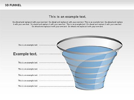 3D Funnel, Slide 7, 00750, Business Models — PoweredTemplate.com