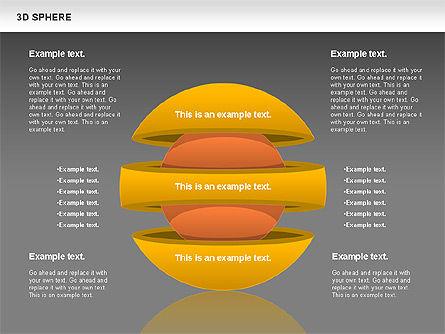 3D Sphere, Slide 11, 00751, Business Models — PoweredTemplate.com