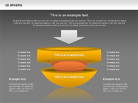 3D Sphere, Slide 12, 00751, Business Models — PoweredTemplate.com