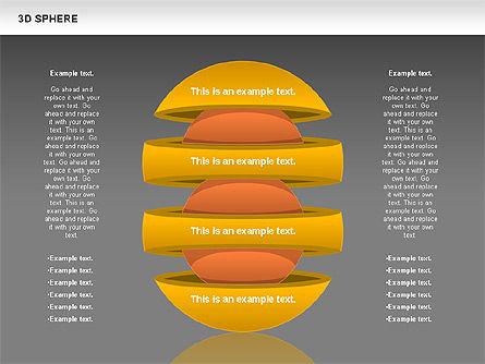 3D Sphere, Slide 13, 00751, Business Models — PoweredTemplate.com