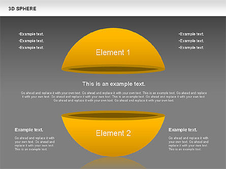 3D Sphere, Slide 15, 00751, Business Models — PoweredTemplate.com