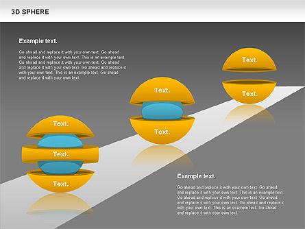 3D Sphere, Slide 16, 00751, Business Models — PoweredTemplate.com