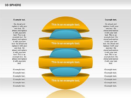 3D Sphere, Slide 3, 00751, Business Models — PoweredTemplate.com