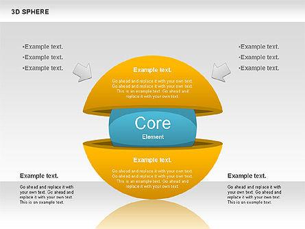 3D Sphere, Slide 4, 00751, Business Models — PoweredTemplate.com