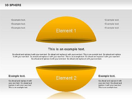 3D Sphere, Slide 5, 00751, Business Models — PoweredTemplate.com