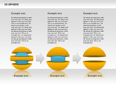 3D Sphere, Slide 7, 00751, Business Models — PoweredTemplate.com