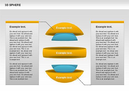 3D Sphere, Slide 8, 00751, Business Models — PoweredTemplate.com