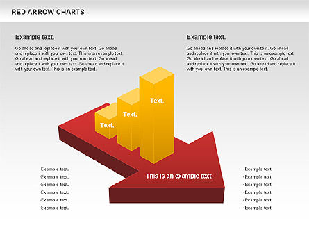 Stage Diagrams: Red Arrow Chart #00753