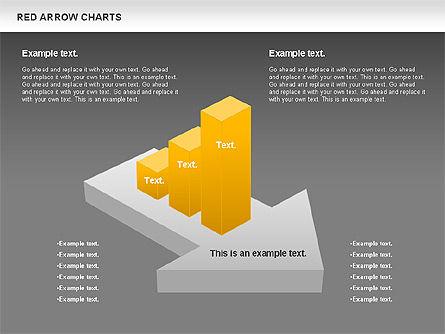 Red Arrow Chart, Slide 11, 00753, Stage Diagrams — PoweredTemplate.com
