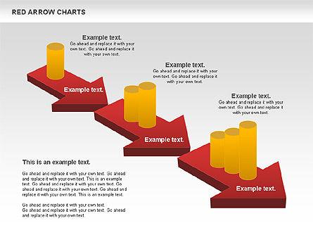 Red Arrow Chart Slide 2