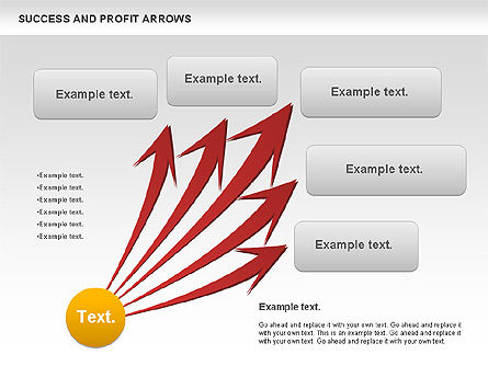 Success and Profit Arrows Slide 3