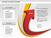 Shapes: Success and Profit Arrows #00755
