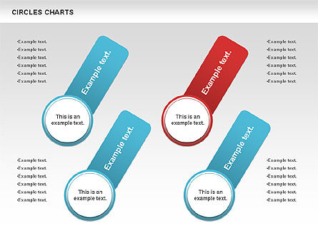 Charts with Circles, Slide 10, 00756, Shapes — PoweredTemplate.com