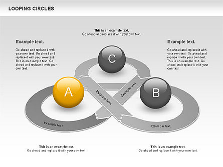 Business Models: Looping Circles #00757