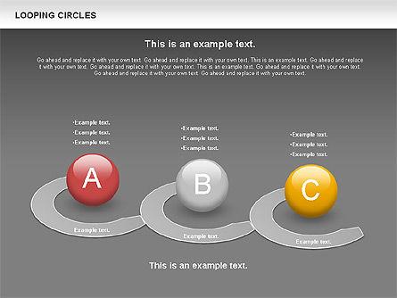 Looping Circles, Slide 16, 00757, Business Models — PoweredTemplate.com
