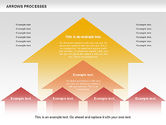 Process Diagrams: Arrows Processes #00758