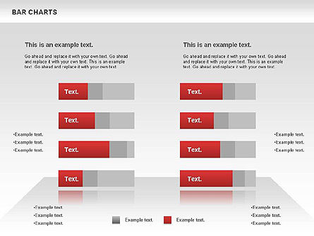 Bar Charts Collection, Slide 9, 00760, Business Models — PoweredTemplate.com