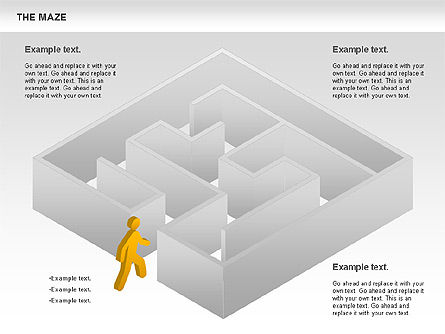 Business Models: Maze Diagram #00761