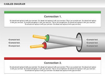 Cable Diagram, Slide 10, 00762, Stage Diagrams — PoweredTemplate.com
