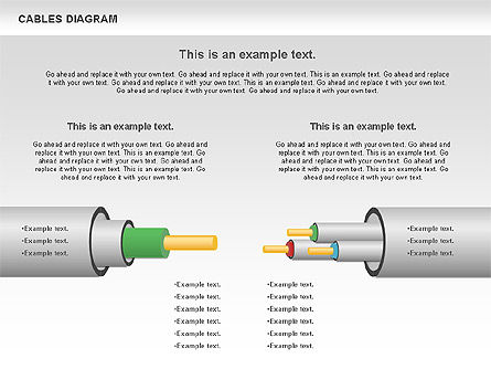 Cable Diagram, Slide 12, 00762, Stage Diagrams — PoweredTemplate.com