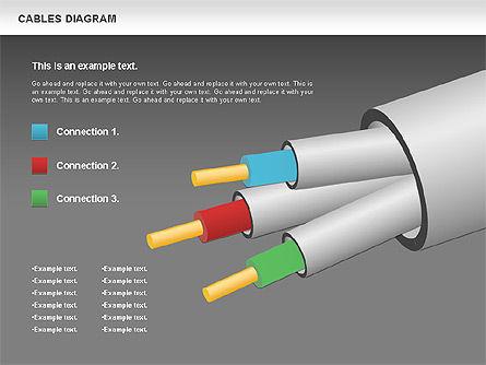 Cable Diagram, Slide 15, 00762, Stage Diagrams — PoweredTemplate.com