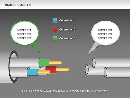 Cable Diagram, Slide 18, 00762, Stage Diagrams — PoweredTemplate.com