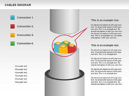 Cable Diagram, Slide 5, 00762, Stage Diagrams — PoweredTemplate.com