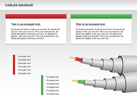 Cable Diagram, Slide 6, 00762, Stage Diagrams — PoweredTemplate.com
