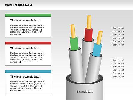 Cable Diagram, Slide 7, 00762, Stage Diagrams — PoweredTemplate.com