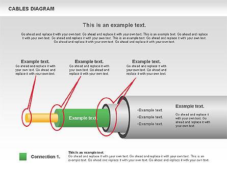 Cable Diagram, Slide 9, 00762, Stage Diagrams — PoweredTemplate.com