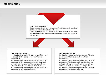 Make Money Diagram, Slide 12, 00764, Business Models — PoweredTemplate.com