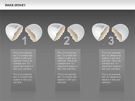 Make Money Diagram, Slide 16, 00764, Business Models — PoweredTemplate.com