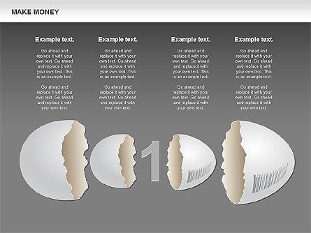 Make Money Diagram, Slide 20, 00764, Business Models — PoweredTemplate.com
