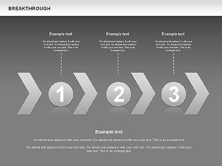 Breakthrough Diagram, Slide 10, 00770, Stage Diagrams — PoweredTemplate.com
