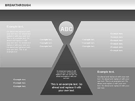 Breakthrough Diagram, Slide 11, 00770, Stage Diagrams — PoweredTemplate.com