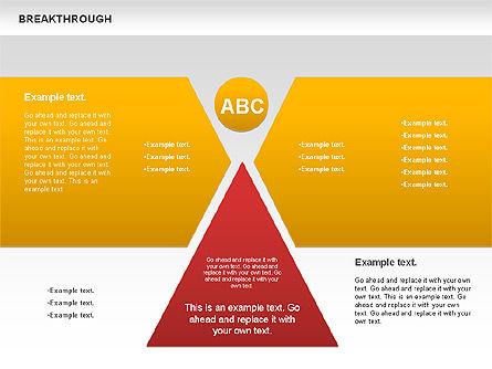 Breakthrough Diagram, Slide 5, 00770, Stage Diagrams — PoweredTemplate.com