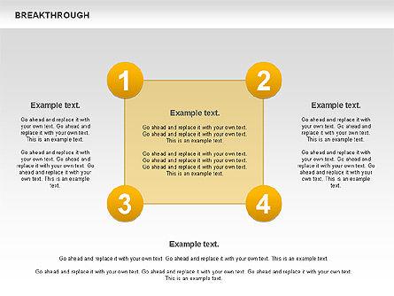 Breakthrough Diagram, Slide 6, 00770, Stage Diagrams — PoweredTemplate.com