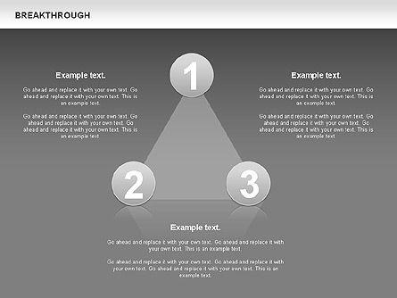 Breakthrough Diagram, Slide 9, 00770, Stage Diagrams — PoweredTemplate.com