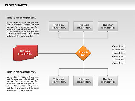 Flowchart, Slide 2, 00775, Flow Charts — PoweredTemplate.com