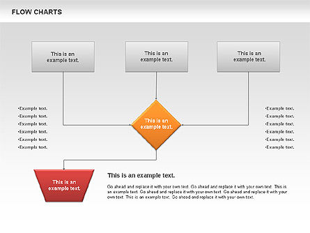 Flowchart, Slide 4, 00775, Flow Charts — PoweredTemplate.com