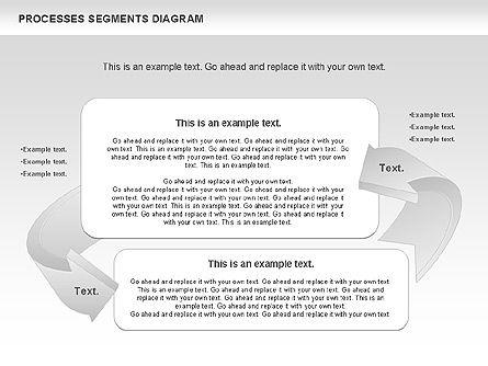Process Segments Diagram, Slide 10, 00776, Process Diagrams — PoweredTemplate.com