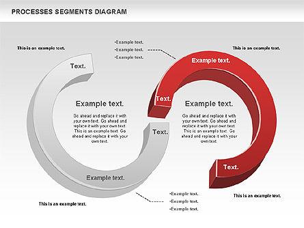 Process Segments Diagram, Slide 11, 00776, Process Diagrams — PoweredTemplate.com