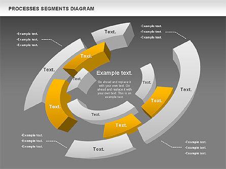 Process Segments Diagram, Slide 12, 00776, Process Diagrams — PoweredTemplate.com