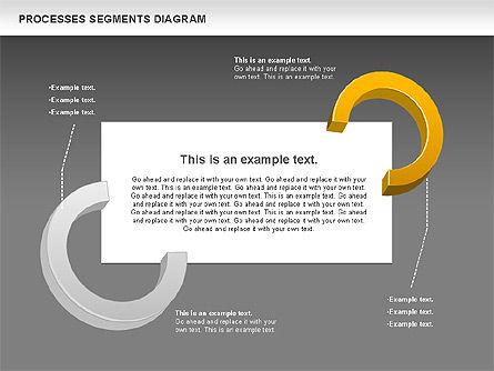 Process Segments Diagram, Slide 13, 00776, Process Diagrams — PoweredTemplate.com