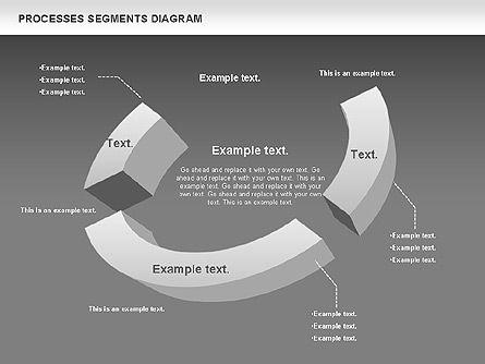 Process Segments Diagram, Slide 14, 00776, Process Diagrams — PoweredTemplate.com