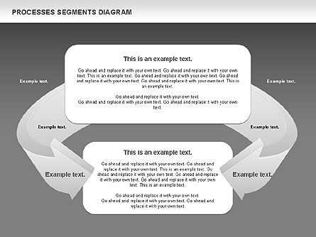 Process Segments Diagram, Slide 15, 00776, Process Diagrams — PoweredTemplate.com