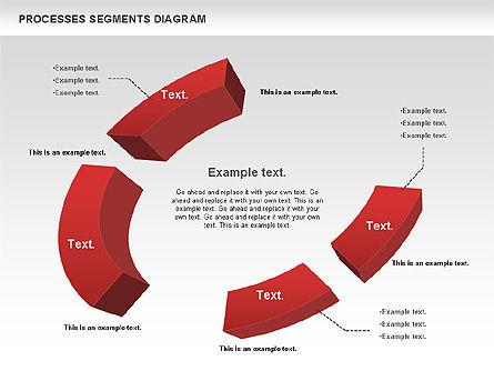 Process Segments Diagram, Slide 5, 00776, Process Diagrams — PoweredTemplate.com